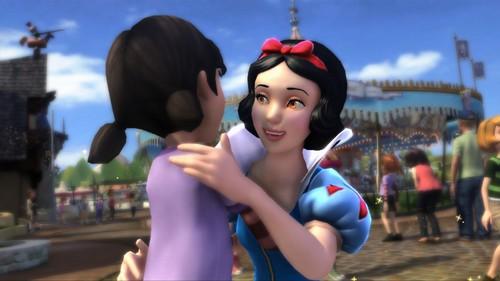 Snow White kertas dinding entitled Snow White 3d