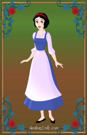 Snow white as Belle