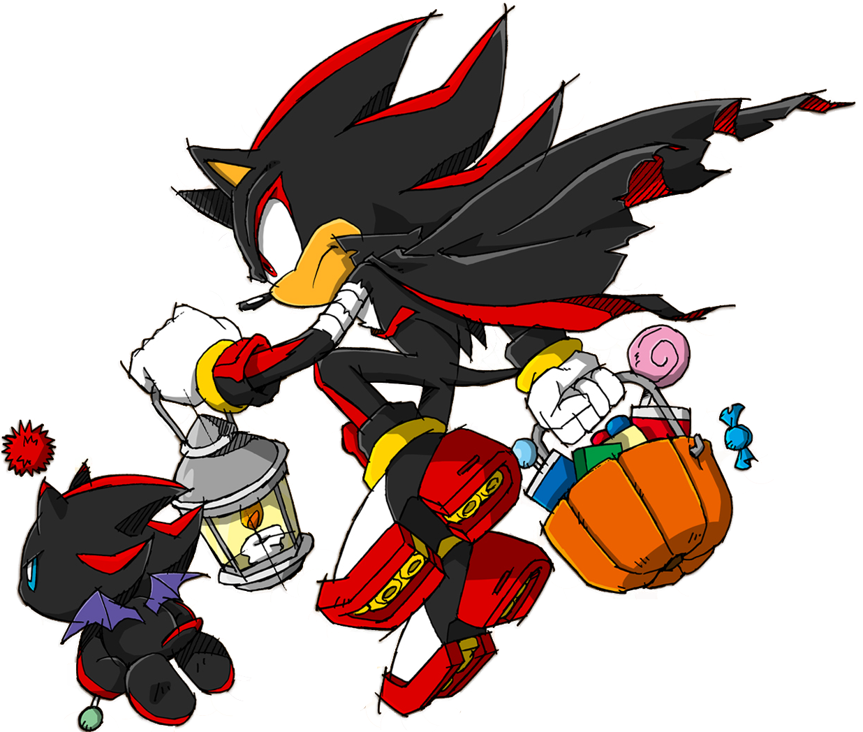 Shadow On A Halloween Costume   Sonic Funnies Photo ...