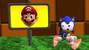 Sonic wrong goal