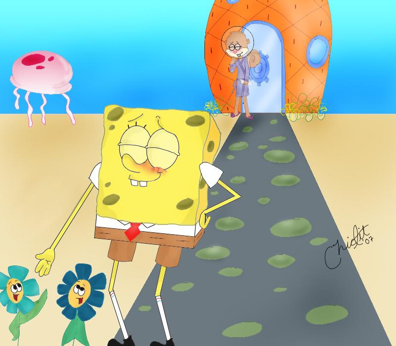 spongebob and sandy - Spandy Photo (36622977) - Fanpop