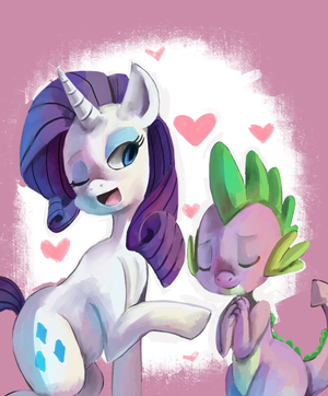 Rarity x Spike
