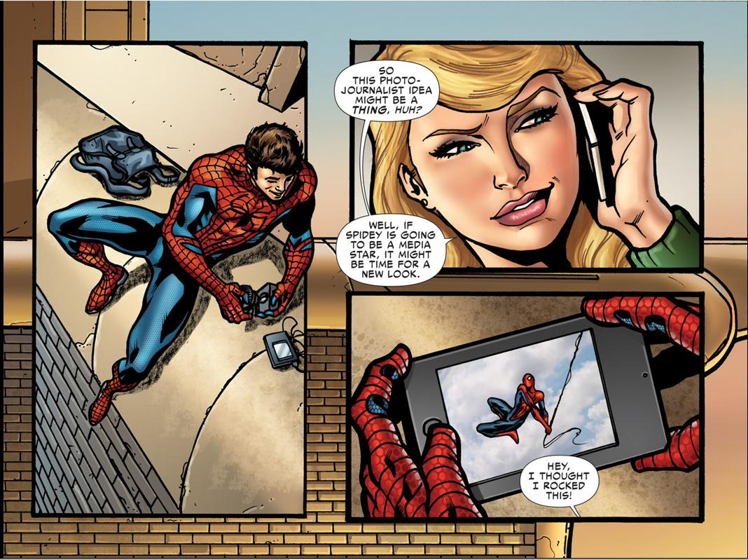 Why Spider-Man changes his costume in The Amazing Spider-Man 2