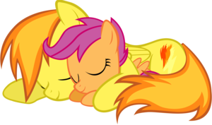 Spitfire and Scootaloo