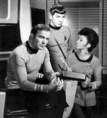 Spock, Uhura and Kirk
