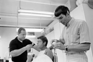 Spock and bones - make-up
