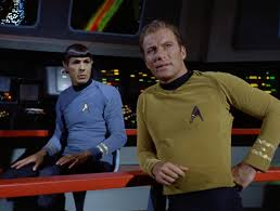 Kirk and Spock!