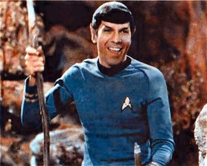 Spock Star Trek!