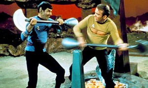 AMOK TIME SPOCK AND KIRK
