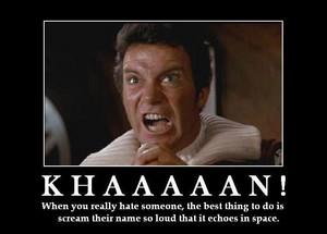 Kirk - Khaaaaan