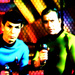 Spock and Kirk - star-trek icon