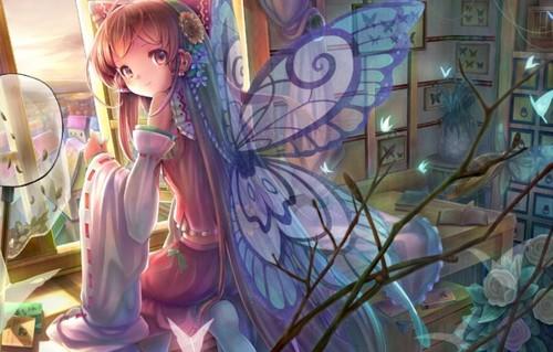 Anime Wallpaper Girl on WallpaperGet.com