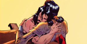 Clark and Diana