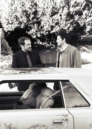 Castiel and Crowley