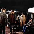 Sam, Dean, Bobby and castiel - supernatural photo