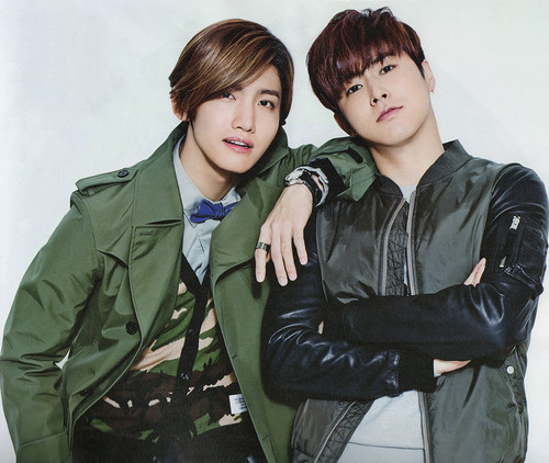 "TVXQ!! 바탕화면 containing a well dressed person titled TVXQ for ""Star1"""