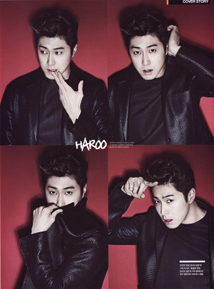 Yunho for 'Arena Homme '