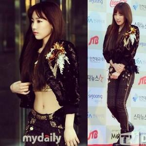Taeyeon @ Gaon কেপপ Chart Awards