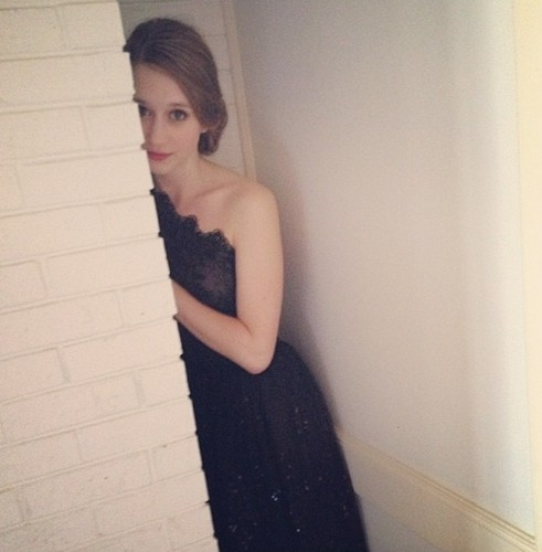 Taissa Farmiga Hintergrund probably with a cocktail dress, a dress, and a abendessen dress entitled The Bling Ring