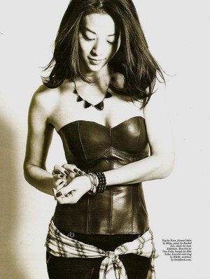 Arden Cho for Korean American Magazine (LQ Scans - February 2014)