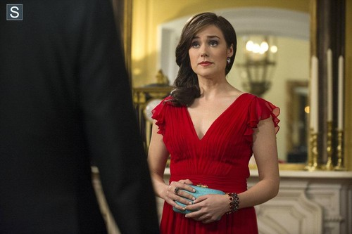 The Blacklist wallpaper containing a cocktail dress and a dinner dress titled The Blacklist - Episode 1.14 - Madeline Pratt