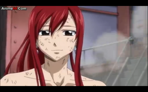Erza tired