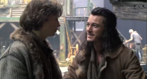 Luke Evans and John kampanilya