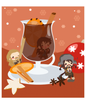 Bofur, Fili, and Kili