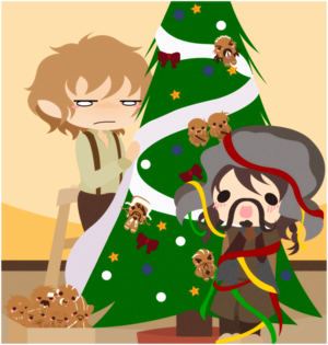 Bofur and Bilbo