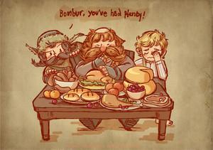 Bombur, Bofur, Bilbo