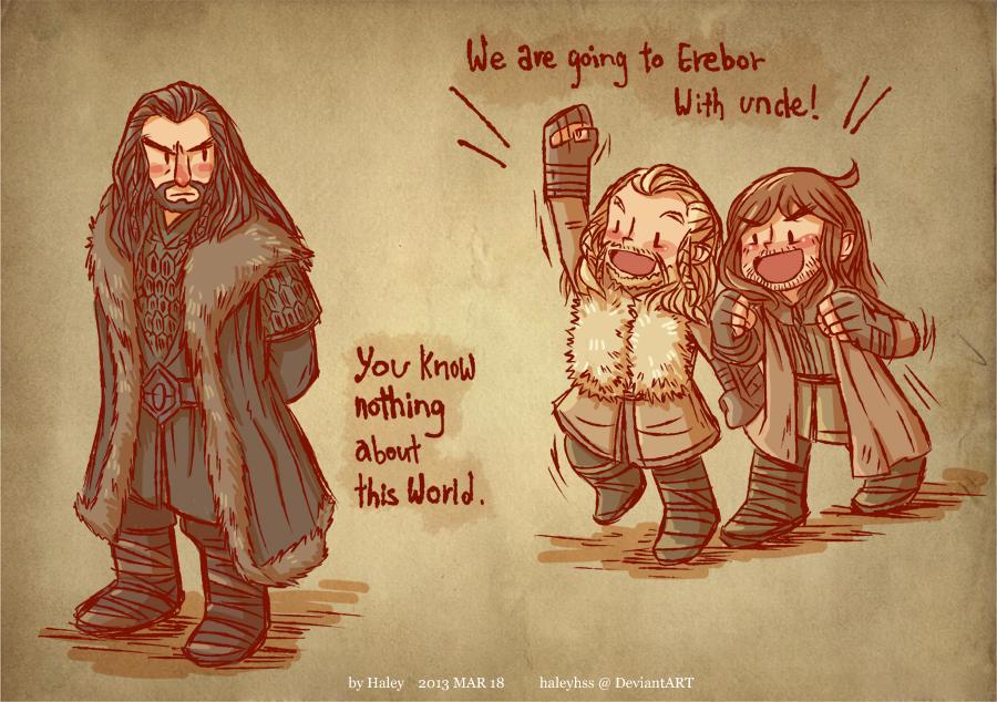 Thorin Fili Kili The Hobbit Fan Art 36664155 Fanpop