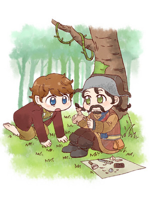 Bilbo and Bofur