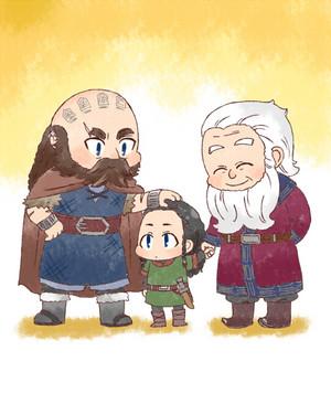 Thorin, Balin, Dwalin