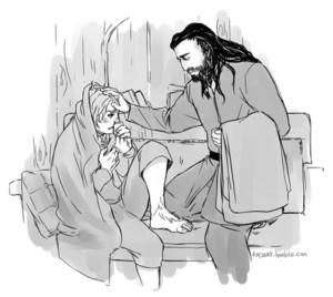 Thorin & Bilbo