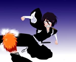 *Ichigo v/s Rukia*