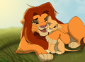 thats my girl - the-lion-king-2-simbas-pride photo