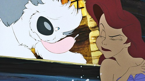 La Sirenetta wallpaper containing Anime entitled Walt Disney Screencaps - Max & Princess Ariel