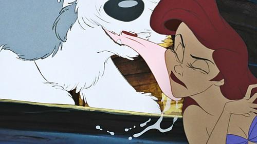 La Sirenetta wallpaper with Anime called Walt Disney Screencaps - Max & Princess Ariel