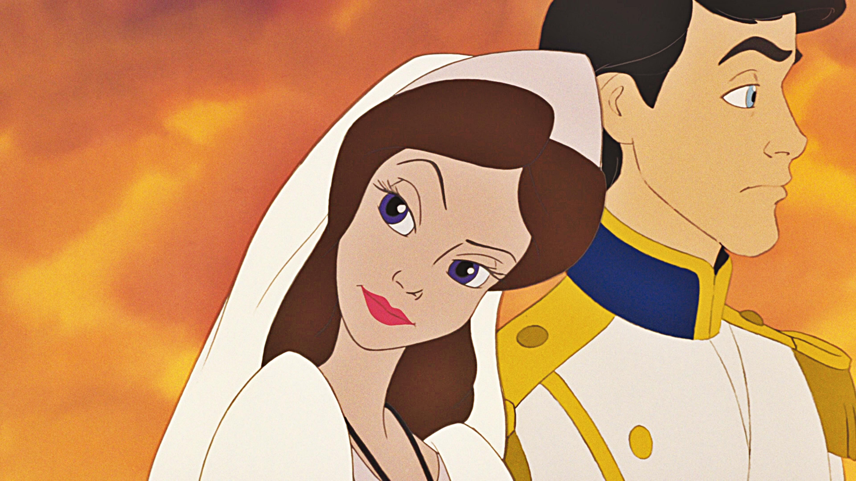 Walt Disney Screencaps - Vanessa & Prince Eric