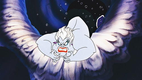 The Little Mermaid kertas dinding possibly with Anime titled Walt Disney Screencaps - Ursula