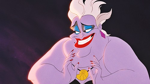 La Sirenetta wallpaper entitled Walt Disney Screencaps - Ursula