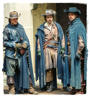 Athos, Porthos and Aramis