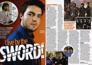 TV Times interview with Tom Burke