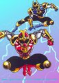 Crimson and Navy Thunder Rangers (Ninja Storm) - the-power-rangers photo
