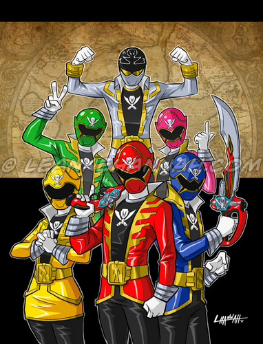 The Power Rangers wallpaper possibly containing anime titled Power Rangers Super Megaforce