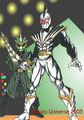 White Drago Ranger and Mesogog - the-power-rangers photo