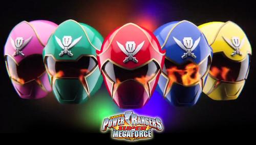 The Power Rangers wallpaper called Power Rangers Super Megaforce