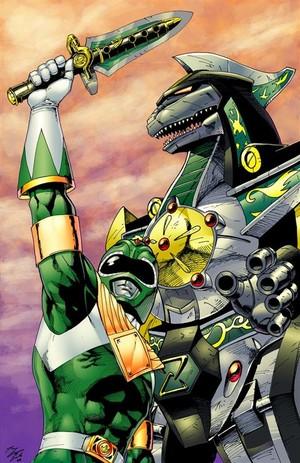 Green MMPR Ranger