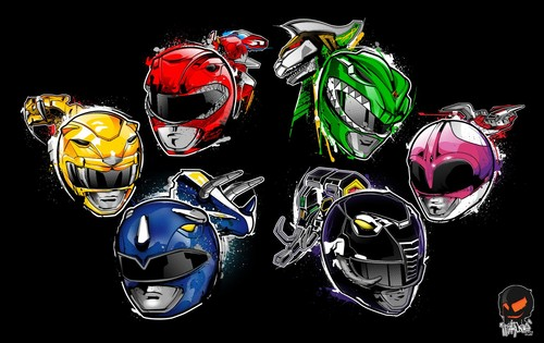 The Power Rangers wallpaper entitled MIghty Morphin Power Rangers
