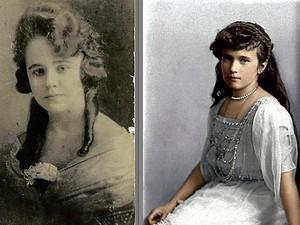 アナスタシア and Grandmama Tasia